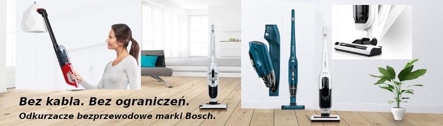 odkurzacze bezprzewodowe Bosch