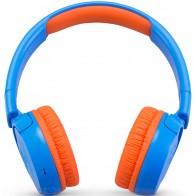 Słuchawki bezprzewodowe JBL JR300BT Niebiesko-pomarańczowy-20
