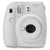 Aparat do natychmiastowej fotografii FUJI Instax mini 9 Biały-20