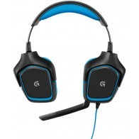 Słuchawki z mikrofonem LOGITECH G430 Surround Sound Gaming Headset 981-000537-20