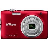 Aparat kompaktowy NIKON Coolpix A100 Czerwony-20