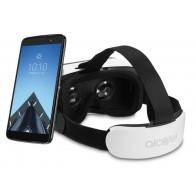 Smartfon ALCATEL Idol 4S LTE Dual SIM Szary + Okulary VR-20