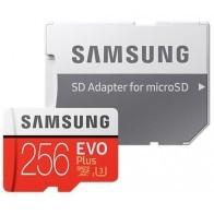 Karta pamięci SAMSUNG EVO Plus 256 GB + Adapter SD-20