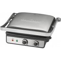 Grill elektryczny PROFI PC-KG 1029 (2000W stołowy-zamykany, srebrno-czarny)-20