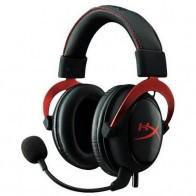 Słuchawki z mikrofonem KINGSTON Hyperx Cloud II Czerwony-20