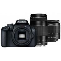Lustrzanka cyfrowa CANON EOS 4000D + obiektywy 18-55 + 75-300-20
