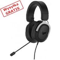 Słuchawki z mikrofonem ASUS TUF Gaiming H3 Srebrny-20