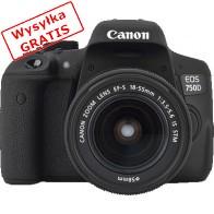 Lustrzanka cyfrowa CANON EOS 750D + EF-S 18-55mm f/3.5-5.6 IS STM + pasek na ramię-20