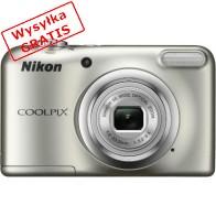 Aparat kompaktowy NIKON Coolpix A10 Srebrny-20
