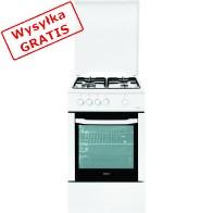 Kuchnia Beko CSG 52020 FW (Płyta Gazowa Piekarnik Gazowy szer. 500mm Biały)-20