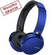 Słuchawki bezprzewodowe SONY MDR-XB650BT Niebieski-20