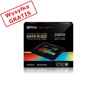 Dysk SSD SILICON POWER Silm S55 240GB SP240GBSS3S55S25-20