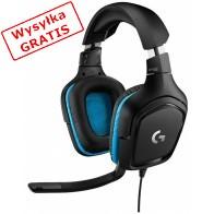 Słuchawki z mikrofonem LOGITECH G432 Surround Sound Gaming-20