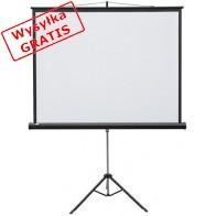 Ekran projekcyjny 2x3 Ekran projekcyjny manualny POP na trójnogu 195 x 145-20