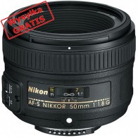 Obiektyw NIKON 50mm f/1.8G AF-S-20