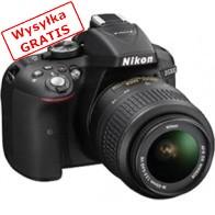 Lustrzanka cyfrowa NIKON D5300 + 18-105mm VR Czarny-20