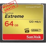 Karta pamięci SANDISK CompactFlash Extreme 64GB-20