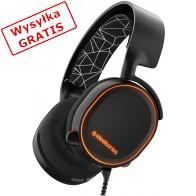 Słuchawki STEELSERIES Arctis 5 Czarno-pomarańczowy-20