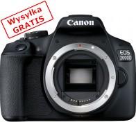 Lustrzanka cyfrowa CANON EOS 2000D + 18-135 S-20