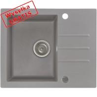 Zlewozmywak KERNAU KGS A 4560 1B1D Grey Metallic-20
