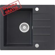 Zlewozmywak KERNAU KGS A 4560 1B1D Black Metallic (Metaliczny Czarny)-20