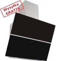 Okap GLOBALO Crystalio 90.5 Black Eko Max-20