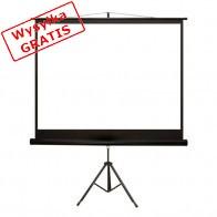 Ekran projekcyjny 4WORLD Matt White na statywie 203 x 152 cm-20