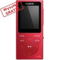 Odtwarzacz MP3 SONY NW-E394R Czerwony-20