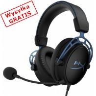 Zestaw słuchawkowy HyperX Cloud Alpha S (HX-HSCAS-BL/WW) Czarny/Niebieski-20