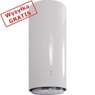 Okap GLOBALO Cylindro Isola 39.2 White Eko Max-20