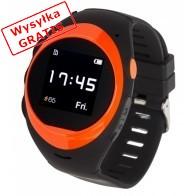 Smartwatch GARETT Gps 2 Czarno-pomarańczowy-20