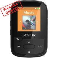 Odtwarzacz MP3 SANDISK Clip Sport Plus Czarny-20