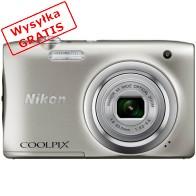 Aparat kompaktowy NIKON Coolpix A100 Srebrny-20
