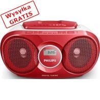 Radioodtwarzacz PHILIPS AZ215R/12 Czerwony-20