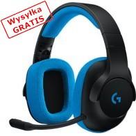 Słuchawki z mikrofonem LOGITECH G233 Prodigy Czarno-niebieski-20