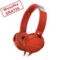 Słuchawki SONY MDR-XB550APR Czerwony-20