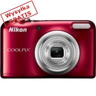 Aparat kompaktowy NIKON Coolpix A10 Czerwony-20