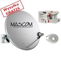 Anteny satelitarne MASCOM MSCOPVJ2-20