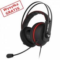 Słuchawki z mikrofonem ASUS TUF Gaming H7 Czerwony-20
