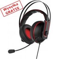Słuchawki z mikrofonem ASUS Cerberus V2 Czarno-czerwony-20