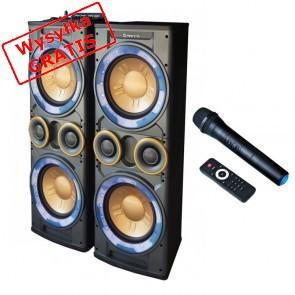 Kolumny głośnikowe MANTA Karaoke Speaker Box SPK5008 Hydra