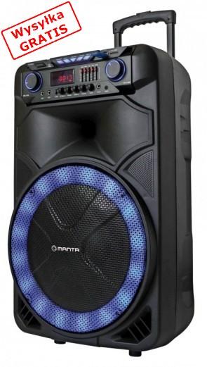 Głośnik przenośny Manta SPK 5023 Orion Karaoke
