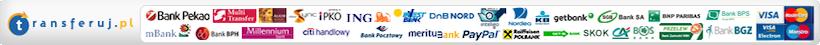 Transferuj.pl - metody płatności