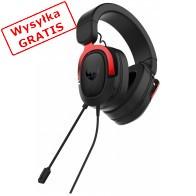 Słuchawki z mikrofonem ASUS TUF Gaiming H3 Czerwony-20