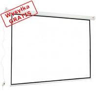 """Ekran projekcyjny elektryczny AVTEK WALL ELECTRIC 200 (sufitowy, ścienny; rozwijane elektrycznie; 200 x 150 cm; 4:3; 98"""")-20"""