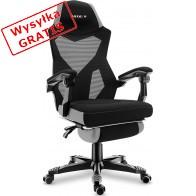 Fotel gamingowy Huzaro Combat 3.0 czarno-szary-20