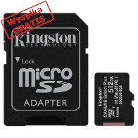 Karta pamięci KINGSTON SDCS2/512GB-20