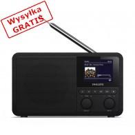 Radio Philips TAPR802 DAB+ internetowe Czarny-20