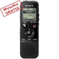 Dyktafon SONY ICD-PX470 Czarny-20