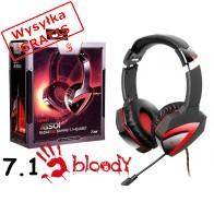 Słuchawki z mikrofonem A4Tech Bloody G501 czarno-czerwone-20